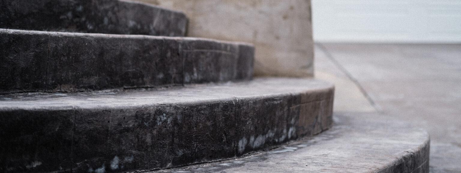 Residential concrete steps